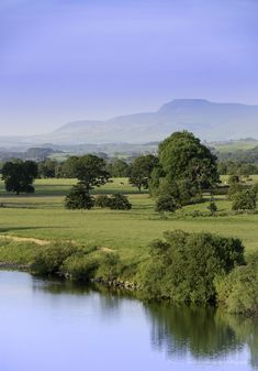 Lune Valley, Lancashire, England by David N Moorhouse