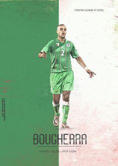 Madjid Bougherra, Defender, Algeria. Brazil World Cup 2014 - Key Players   www.dribblingman.com