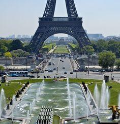 Trocadero (end of Paris Travel, France Travel, Camping Tours, Sites Touristiques, Paris Love, George Washington Bridge, Rodin, September 2014, Tower Bridge