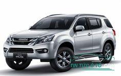 Mẫu xe SUV tầm trung Isuzu MU-X 2017 với nhiều tính năng mới