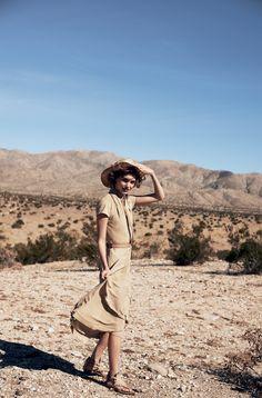 Model Arizona Muse: Peter Lindbergh