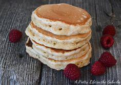 Eggnog Pancakes - A Pretty Life In The Suburbs