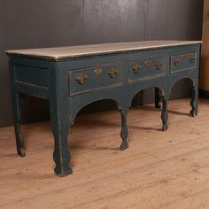Wonderful C English silhouette leg dresser base. Antique Pine Furniture, Antique Dressers, Painting Antique Furniture, Painted Furniture, Pine Dresser, French Dresser, Pie Safe, English, Selling Antiques