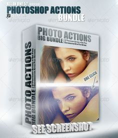57 Photoshop Actions [Bundle]