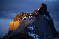 Mountain peak @ Torres Del Paine National Park