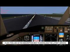 This is the video about the best free flight simulator that you can download in 2014
