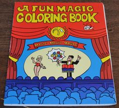 HAINES HOUSE OF CARDS INC. A Clown Magic Coloring Book Easy Magic ...