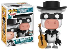 Quick Draw McGraw: El Kabong Pop figure by Funko, exclusive to Specialty stores