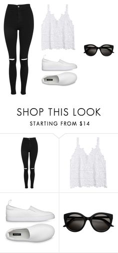 """""""Untitled #1"""" by lejllahamzic on Polyvore featuring Topshop"""