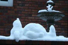 Snowy Snoopy #snoopy