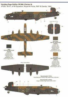 Handley Page Halifax, Hawker Hurricane, Military Equipment, Royal Air Force, Cutaway, Commonwealth, World War Ii, Ww2, Paint Colors