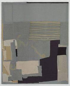 Somatic intelligence  Sergej Jensen (Danish, b.1973)  2010  Sewn fabric  h: 250 x w: 200 cm / h: 98.4 x w: 78.7 in