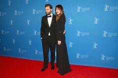 Dakota Johnson and Jamie Dornan Photos - Jamie Dornan and Dakota Johnson attend the 'Fifty Shades of Grey' premiere during the…