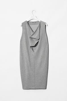 Jersey drape neck dress - my love of Cos continues