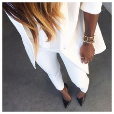 "She Designed A Life She Loved on Instagram: ""White, bright, crisp and clean.. #lotd #ootd #fromwhereistand"""