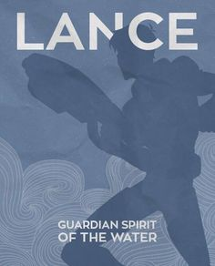 Lance Guardian Spirit of the Water from Voltron Legendary Defender