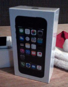 New Sealed Apple iPhone 5s 16GB Space Gray Factory Unlocked Any GSM Carrier SIM  #Apple #Bar