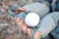 Pattern Crochet snowball PDF Snowball game Winter by BarbariskaK