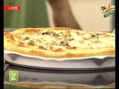 Basic Pizza Dough, Pizza Sauce, Seekh Kebab Pizza And Chicken Fajita Pizza by Shireen Anwar | Zaiqa