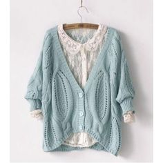 Vintage Twist Crochet Bat Sleeve knit Cardigan for only $29.99 ,cheap Sweaters  Cardigans - Clothing  Apparel online shopping,Vintage Twist Crochet Bat Sleeve knit Cardigan