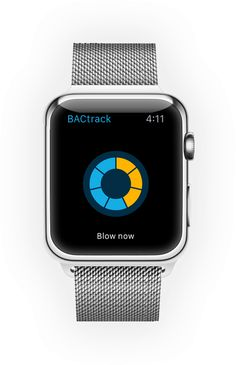 BACtrack Smartphone Breathalyzers for Apple Watch
