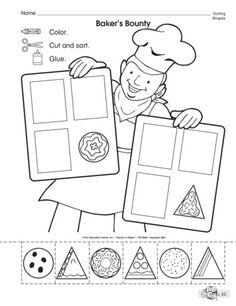 Crafts,Actvities and Worksheets for Preschool,Toddler and Kindergarten Preschool Curriculum, Preschool Printables, Preschool Kindergarten, Preschool Learning, Kindergarten Worksheets, Worksheets For Kids, Preschool Activities, Shape Activities, Free Preschool