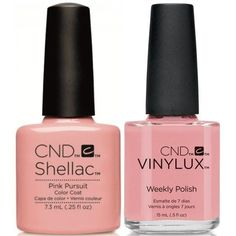 CND Creative Nail Design Vinylux + Shellac Pink Pursuit