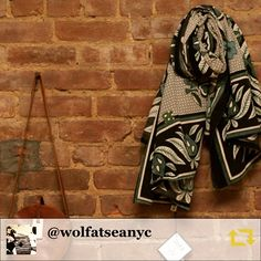 Get Cosy in one of our favorites for @wolfatseanyc ❄️RG @wolfatseanyc: just hangin #scarrbag #cabteen #saddleleather #duka #scarf #independentdesigners #ethicalfashion #accessorize #style #fashion #bundleup #regramapp