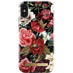 Ideal Of Sweden Fashion Case A/W 17-18 Iphone X Antique Roses ($39) ❤ liked on Polyvore featuring accessories and tech accessories