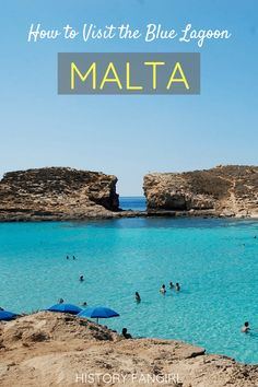Malta Blue Lagoon, Island Blue Lagoon, Cool Places To Visit, Places To Travel, Travel Destinations, Travel Europe, Malta Travel Guide, Travel Guides, Travel Tips