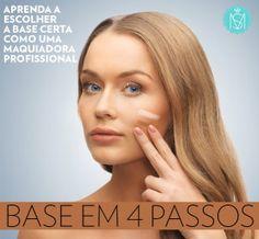 Como escolher a base ideal para deixar a pele uniforme como uma profissional