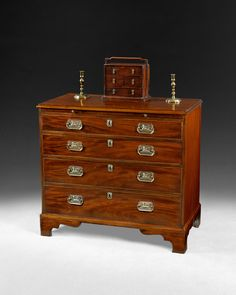 Super George III Mahogany Chest of Drawers, great colour and grain, immensely useful and terrific value for money at £2750-. Dates from Ca. 1785