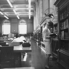 Urbana, IL University of Illinois Main Library Reference Room 1966 | Flickr - Photo Sharing!