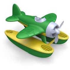 Buy Green Toys Seaplane (Assorted) at Mighty Ape NZ. Float, fly, and find Good Green Fun! no matter how you travel! The Green Toys Seaplane is ready for earth-friendly excitement in the sky or out at sea. Green Toys, Thing 1, Water Toys, Old Toys, Toy Boxes, Household Items, Green Colors, Vibrant Colors, Baby Toys