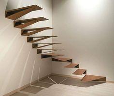 """448 Likes, 9 Comments - #Arqpédia (@arqpedia) on Instagram: """"Escada Origami"""""""