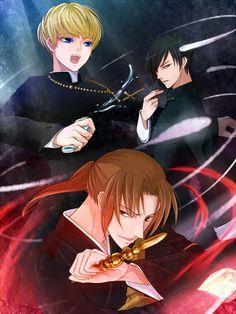 Monk, Naru, and John