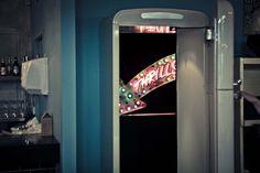 Climb through a smeg fridge into Mayor of Scaredy Cat Town's experimental Cocktail Bar in Soho