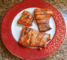 The Nutritionist Reviews: Sesame Soy Grilled Salmon