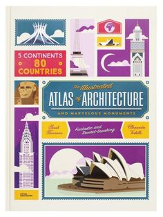 Books / kid's wear Magazine - The Illustrated Atlas of Architecture