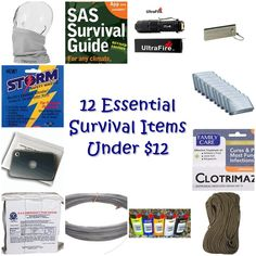 Stocking up on prepper or survival gear can get expensive. If you go with the cheap versions of things, you get items that won't work as advertised. Survival Family, Survival Prepping, Survival Gear, Survival Skills, Doomsday Prepping, Emergency Preparation, Survival Equipment, Survival Quotes, Edc