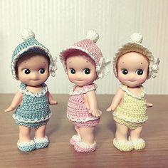 마담우마님 옷 . #소니엔젤 #마담우마 #뜨개옷 #sonnyangel #handmadeclothing #Knitting #toy…