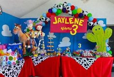 Toy Story Birthday party ideas! Love the sign! could use as a backdrop for photo booth corner.