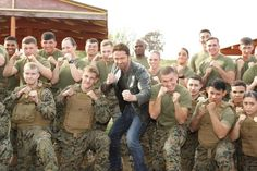 """Celeb photos of the year 2016:   Gerard Butler is seen at Focus Features' """"London Has Fallen"""" special screening at Camp Pendleton in San Diego on Feb. 26, 2016."""