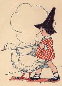 "Margaret Evans Price, ""Mother Goose,"" 1917 by Gatochy, via Flickr"