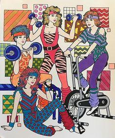 ColorIt Decades Colorist: Pam Shaffer Boik #dultcoloringbook #coloringbook #coloringforadults #decades
