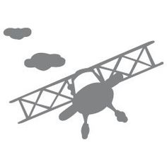 biplane and cloud silhouette Silhouette Cameo Projects, Silhouette Design, Silhouette Studio, Airplane Silhouette, Stencils, Silhouette Portrait, Silhouette Painting, Cricut Explore Air, Vintage Airplanes