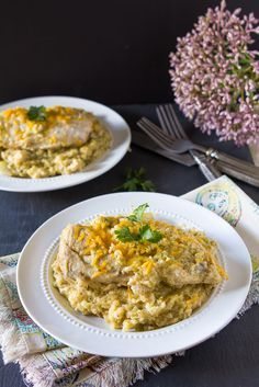 Slow cooker chicken, broccoli and quinoa casserole