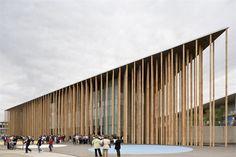 Spanish Pavilion for Expo Zaragoza 2008, Zaragoza, 2008