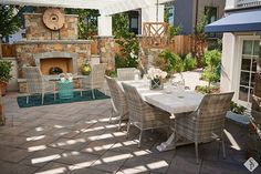 Oh my goodness, this is my patio dream! Check out this beautiful design put together bySystem Pavers... what do you think of this fireplace?#systempavers#adhttps://goo.gl/hJ7FJP