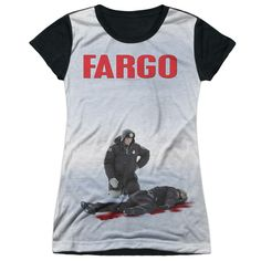 """Checkout our #LicensedGear products FREE SHIPPING + 10% OFF Coupon Code """"Official"""" Fargo/poster-s/s Junior Poly T- Shirt - Fargo/poster-s/s Junior Poly T- Shirt - Price: $24.99. Buy now at https://officiallylicensedgear.com/fargo-poster-s-s-junior-poly-t-shirt-licensed"""